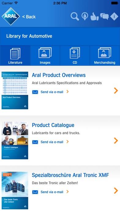 Screenshot von Aral Partner App5