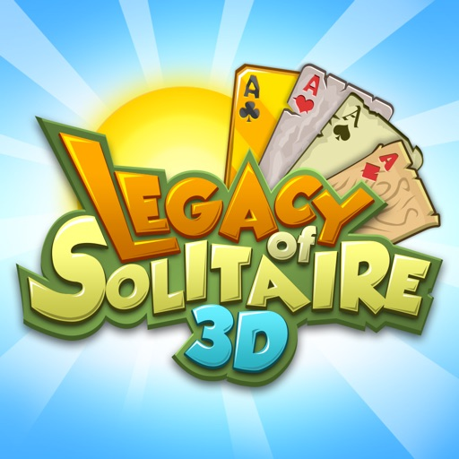 Legacy of Solitaire 3D iOS App