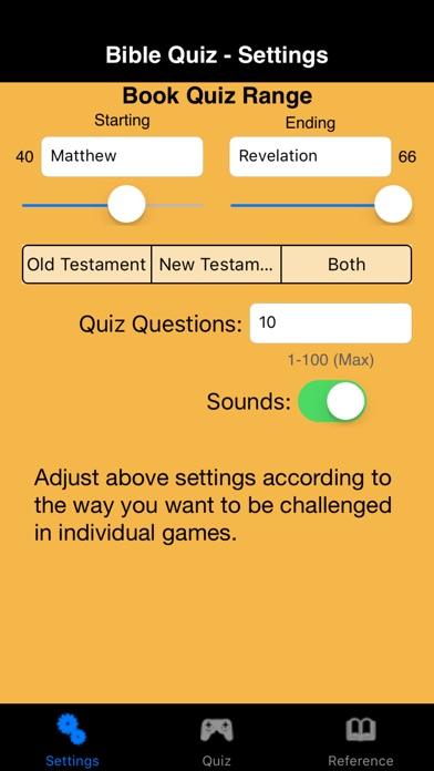 Bible Quiz Deluxe Скриншоты3