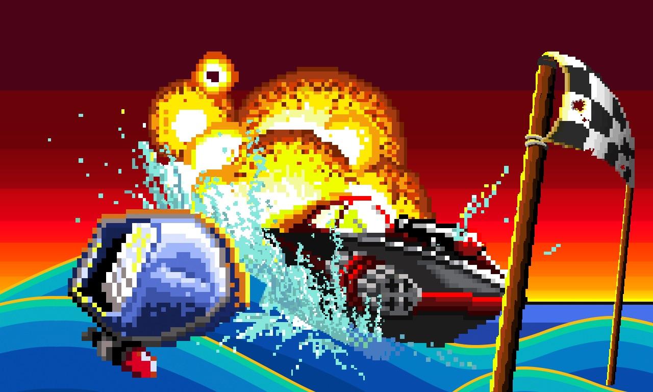 Pixel Boat Rush TV