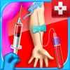 Mega Blood Draw Simulator - Injection & Phlebotomy Games FREE