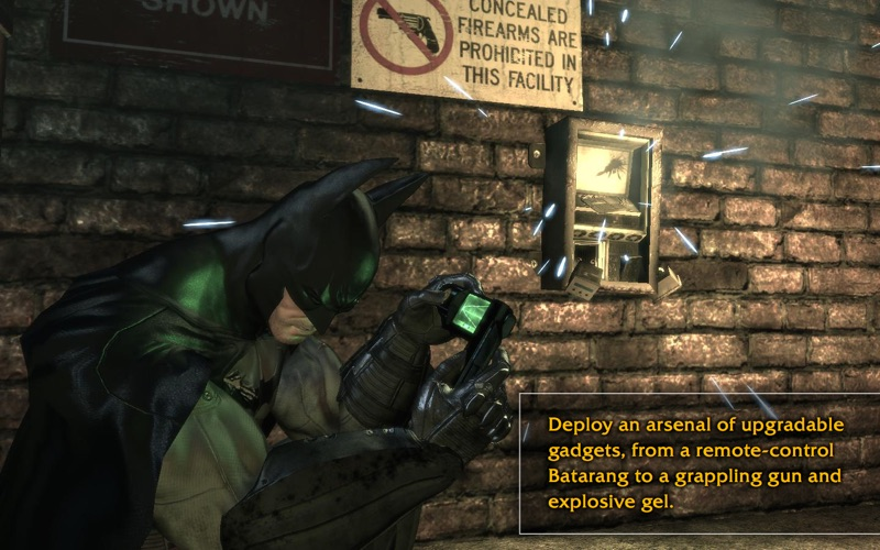 Screenshot #3 for Batman: Arkham Asylum