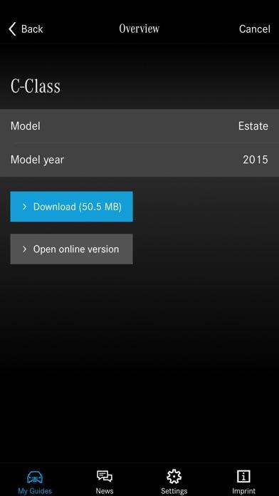 Mercedes benz guides en el app store for Mercedes benz apps
