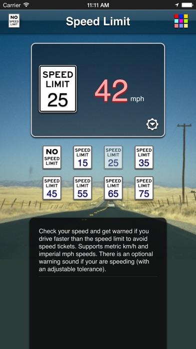 Speed Limit App review screenshots