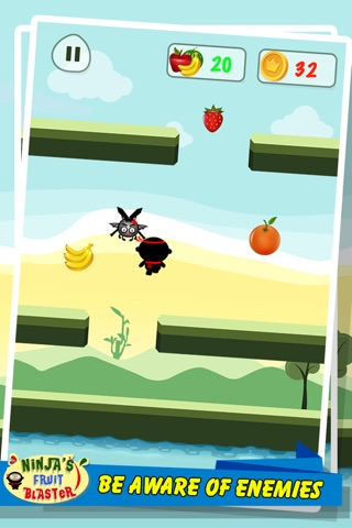 Ninja's Fruit Blaster screenshot 3