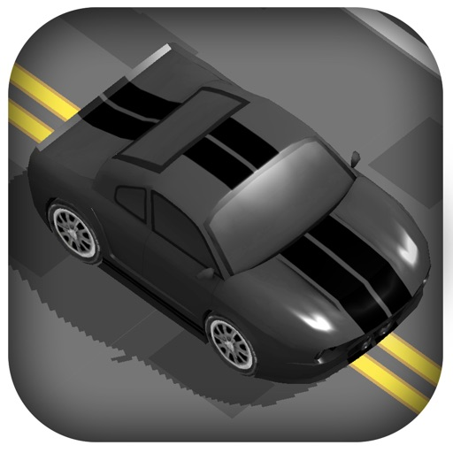 3D Zig Zag Car Racing -  Tap To Drive Most Endless Run Wanted Racer iOS App