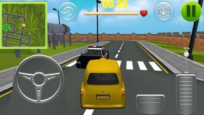 Real Taxi 3d Car Parking Simulator Screenshot on iOS