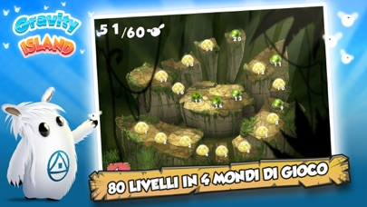 Screenshot of Gravity Island - Shiro's Adventure2