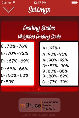A+ Grade Calculator screenshot 3