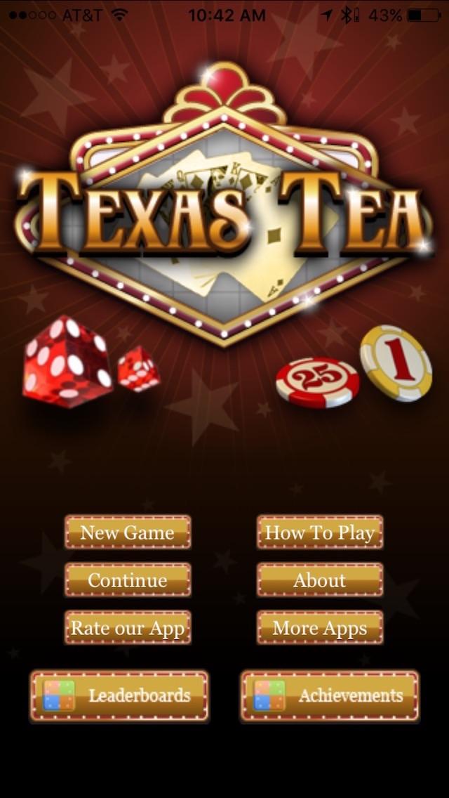 Texas Tea Screenshot