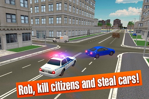 California Car Theft Race 3D screenshot 3