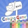 Coloring Book Education Game For Kids - Postman Pat Version