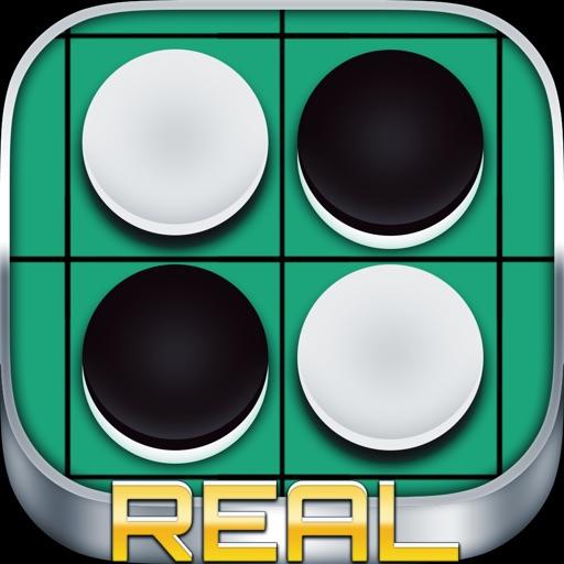 リバーシ REAL - 無料で2人対戦できる オセロ ゲーム