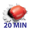 20 Min Boxing Workout - Your Personal Fitness Trainer for Calisthenics exercises - Work from home,  Lose weight