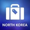 North Korea Detailed Offline Map north korea president