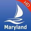 Maryland GPS Nautical charts pro