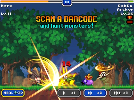 Barcode Knight Screenshots