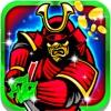 Samurai Ninja Blade-Steckplätze: spielen groß und Fun Royale Casino-Spiel
