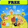 Malbuch: die Farm! KOSTENLOS - Malvorlagen - Spiele für Kinder - app für Kinder - Ausmalbilder