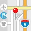 ポケットマップ - 地図のブックマークをフォルダで管理。経路検索も簡単にできるのでナビにも便利!