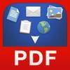 PDF Converter - 文書、ウェブページ、写真などの PDF 化
