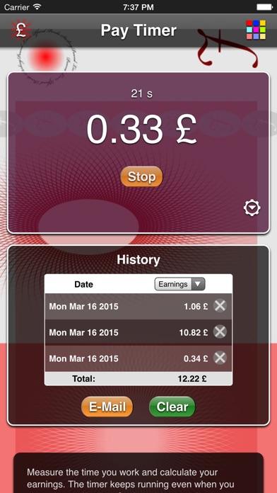 Pay Timer review screenshots