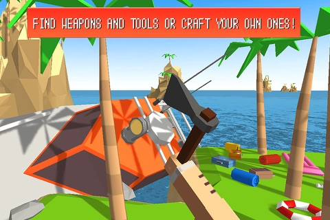 Craft Island Survival Simulator 3D screenshot 3