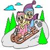 Kids Coloring Book - Cute Cartoon 3