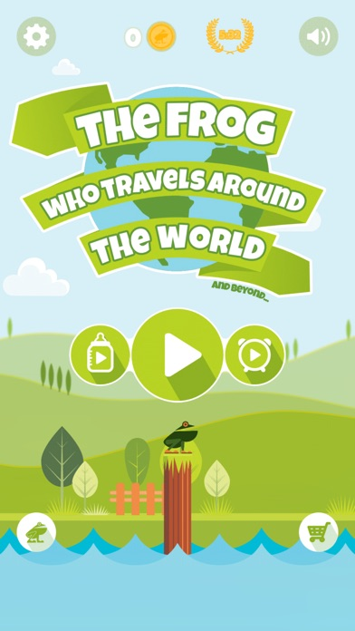 The Frog Who Travels Screenshot