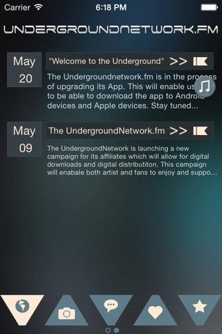 UndergroundNetwork.fm screenshot 1