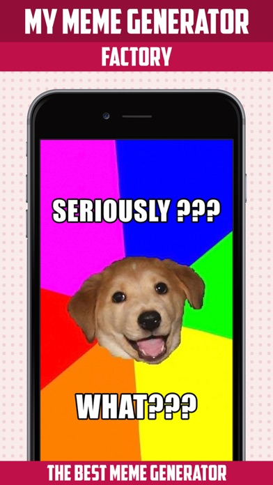 download My Meme Generator Factory - Make Your Own Memes,Lol Pics,Rage Comics Poster & Wallpaper and Share apps 1