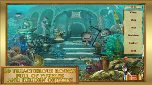 Hidden Object: Find a Diamond Eye - Atlantida  Adventure Gold Screenshot