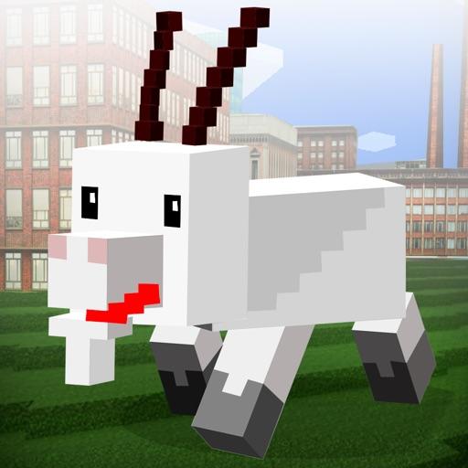 Cubics World: Goat Simulator 3D Full