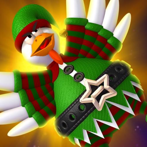 Chicken Invaders 4 Xmas HD iOS App