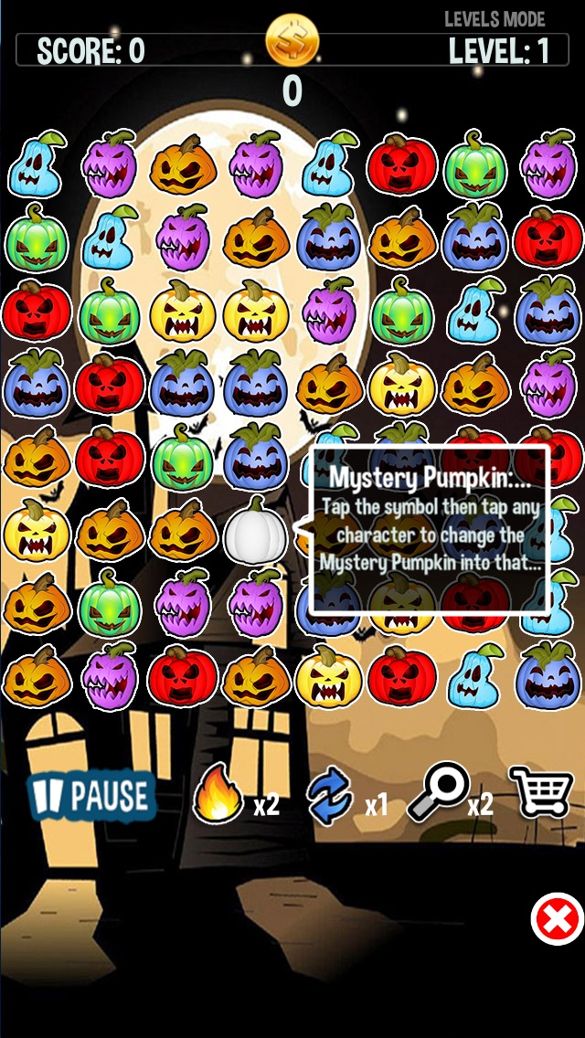 download Haunted Halloween Spooky Ghost Pumpkins Crush Party apps 0