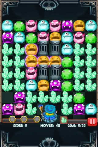Monster Strikes Free 2 screenshot 1