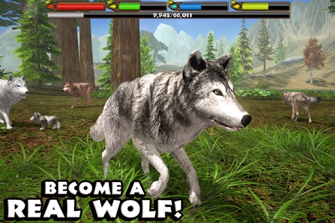 Ultimate Wolf Simulator screenshot 1