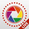 Live Pictures Cam & GIF-Fotoersteller: Auf Facebook, Twitter & Instagram teilen