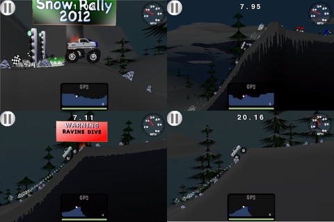 Snow Rally 2012 - Free screenshot 4