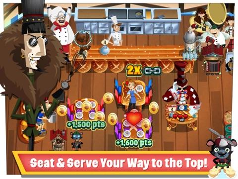 Screenshots of Diner Dash for iPad