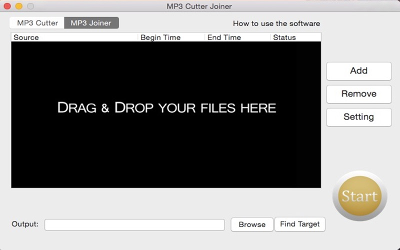 MP3 Cutter Joiner Screenshots