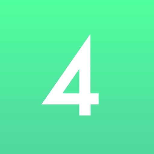 4tune - Notify your scheduled events & biorhythm iOS App