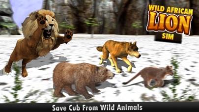 download African Wild Lion Sim 3D - réel Safari roi chasse au cerf sur les montagnes de neige en hiver apps 3