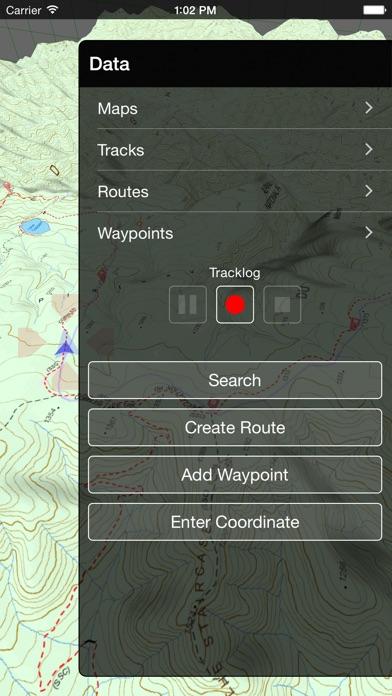 VMS Map Explorer   4WD 3D Topo Offline Navigation screenshot four