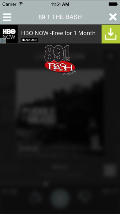 download 89.1 The Bash WVJC apps 3