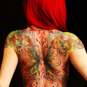 Virtual Tattoo Maker FREE - Photo Designer to add artist tattoos & fonts on yr body icon