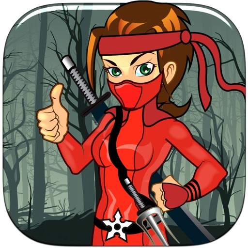 Swinging Ninja Girl Pro - amazing brain strategy arcade game