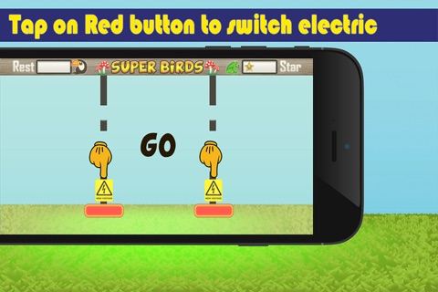 Super Birds Adventures - Birdy Crossing Block screenshot 2