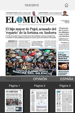 El Mundo Edición Impresa screenshot 1