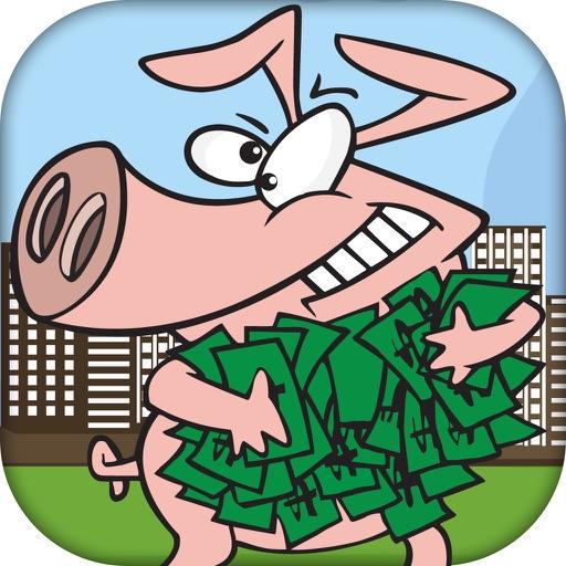 Greedy Bad Pig - Money Catch Rush (Premium) iOS App
